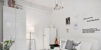 Ngỡ ngàng với căn hộ 20m2 trắng tinh khôi 1