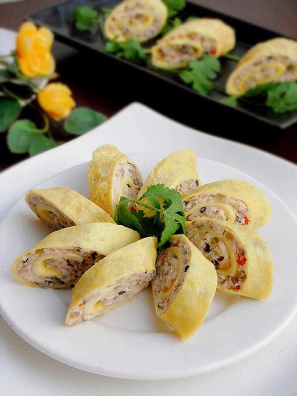 Gà cuộn thập cẩm, bạn đã bao giờ ăn thử món này?