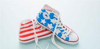 Biến giày trắng trở nên 'chất lừ' với họa tiết từ bút dạ