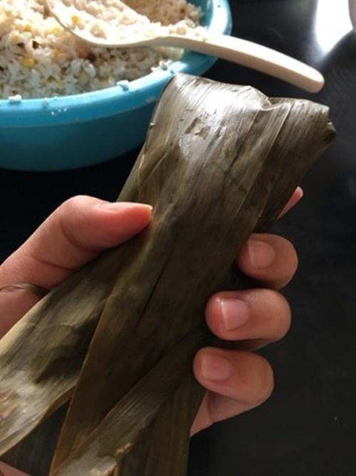 Cách làm bánh chưng mini nhanh chóng 11