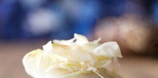 Bữa sáng thanh đạm với bánh khoai lang tím hấp hoa hòe
