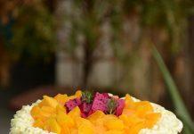 Gọi nắng về với bánh ga tô xoài ngọt lịm
