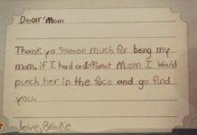 Phì cười với các bức thư của trẻ nhỏ viết cho bố mẹ
