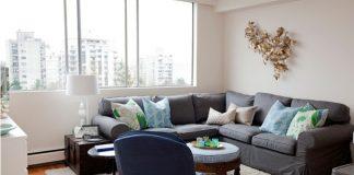 Đẹp mà tiện với thiết kế đơn giản cho căn hộ hơn 40m2