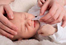 5 cách trị nghẹt mũi hiệu quả cho bé sơ sinh