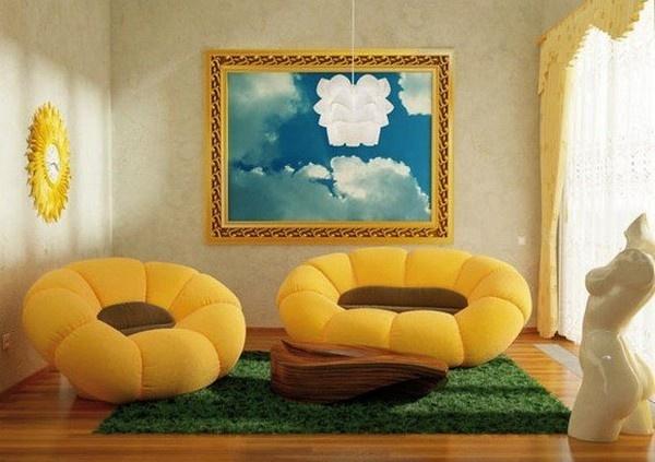"""Những mẫu bàn ghế siêu sáng tạo giúp nhà bạn """"bừng sáng"""""""