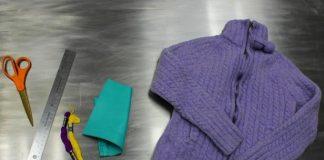 Biến áo len cũ thành găng tay hở ngón tiện dụng