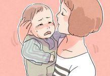 Làm thế nào để dỗ dành khi bé quấy khóc lâu?