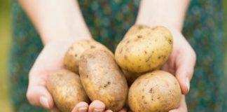 Thổi bay mụn và làm trắng da thần tốc với mặt nạ khoai tây
