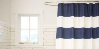 Những mẫu rèm độc đáo cho phòng tắm thêm lạ