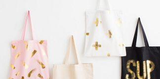 Tự thiết kế thời trang với sắc vàng nhũ thời thượng