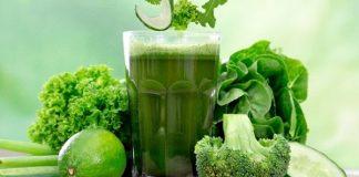 5 ngày giảm cân với nước ép trái cây xanh