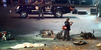 vụ nổ ở bangkok