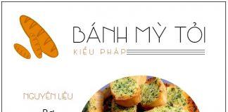 Giòn rụm ngậy thơm - bánh mỳ tỏi kiểu Pháp