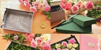 Quà 8/3: Tự làm hộp hoa đẹp mê ly dành tặng người phụ nữ thân yêu
