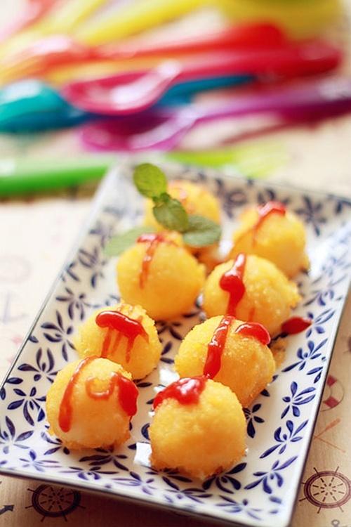 Mê mẩn cùng khoai tây viên sốt cà 1