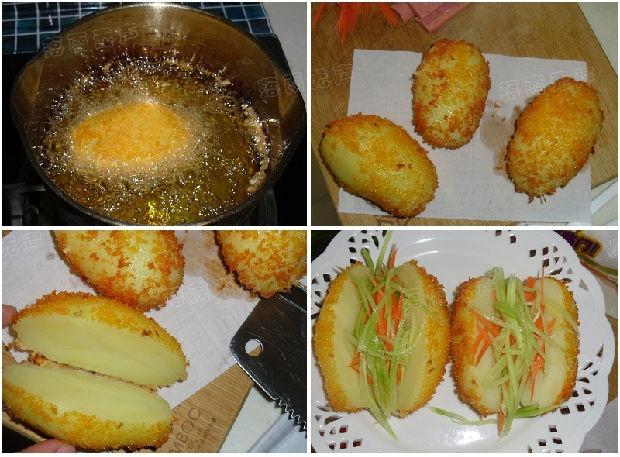 Hướng dẫn làm salad khoai tây xúc xích độc nhất vô nhị
