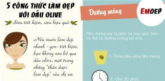 Dầu olive - 'thần dược' làm đẹp siêu rẻ cho phụ nữ
