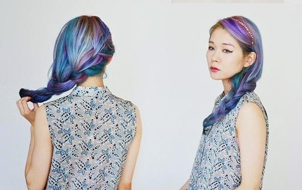 Sành điệu với tóc nhuộm Ombre như tín đồ nước Nhật