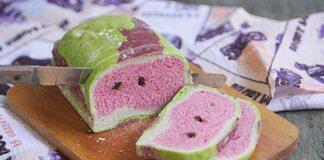 Bánh mì bột nếp vị hoa quả