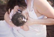 Trìu mến ngắm nhìn những khoảnh khắc mẹ cho con bú