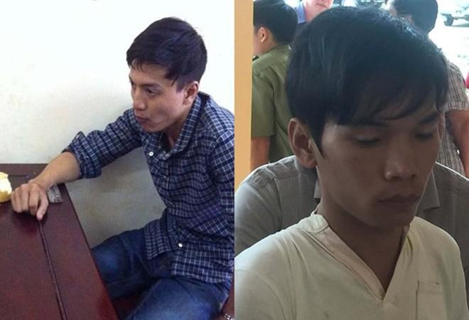 Nghi can Nguyễn Hải Dương và Vũ Văn Tiến.