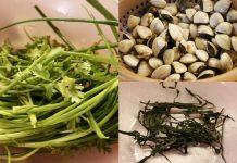 Đổi bữa với canh rong biển nấu ngao cho mùa hè nóng nực
