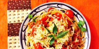 Công thức Mỳ Ý chay cho ngày rằm