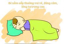Nhìn tư thế ngủ, đoán tính cách con