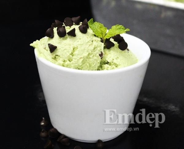 Cách làm kem trà xanh cực kì dễ dàng