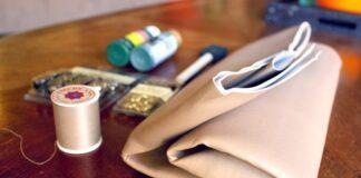 Hướng dẫn tự làm ví bao thư bằng da cá tính