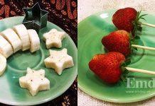 Trái cây nhúng socola - món tráng miệng trẻ em đều mê