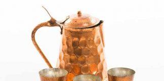 Lợi ích bất ngờ khi uống nước bằng cốc đồng