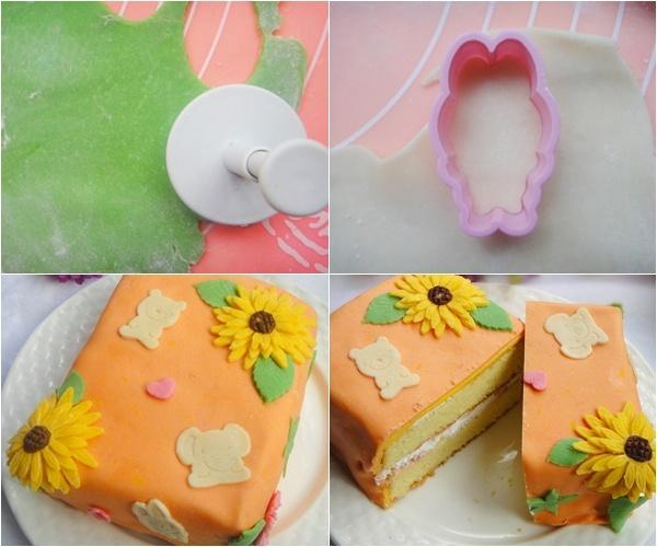 Mách bạn cách trang trí bánh gato đẹp xinh