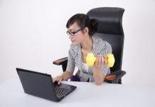 Giúp dân văn phòng giảm cân cả khi làm việc