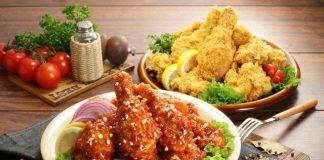Kỹ năng ướp gia vị tài tình của gà rán Hàn Quốc