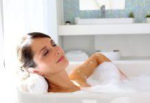 Tắm nước nóng cực hại cho bà bầu