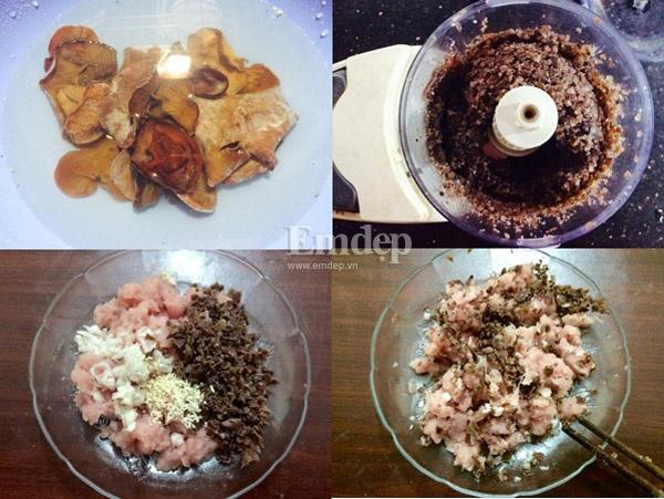 Cách pha bột và tráng bánh cuốn nhân thịt ngon nhất