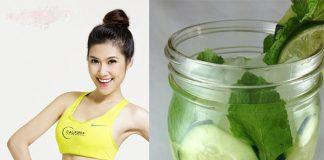 3 mẹo giảm cân hay từ nước dưa chuột