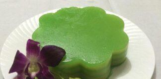 Bánh da lợn lá dứa - xanh mát ngọt ngào 1