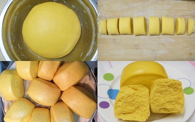 Làm bánh bao khoai lang tím đơn giản, ngon miệng cho bữa sáng