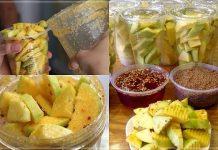 Cách làm món xoài lắc đang 'hot' nhất Sài Gòn