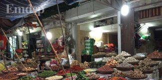 Những hương vị thân thuộc nơi chợ Tết