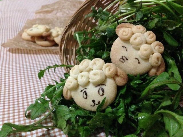 Bánh quy hình chú cừu thơm ngon, dễ làm