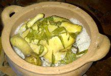 Thơm ngon đặc sản gà vườn hầm muối hột - 1