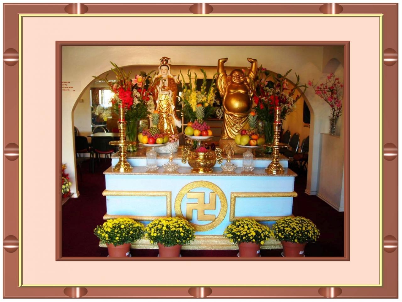 Yếu tố cơ bản của bàn thờ hiện đại - 2