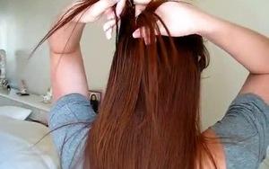 Hướng dẫn cột tóc theo tầng xinh xắn cho bạn gái - 1