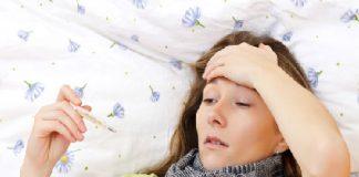 Sốt và đau đầu được coi là một kết hợp chết người. Ảnh: ojushealthcare