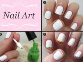 Những kiểu nail nghệ thuật cực dễ làm - 1