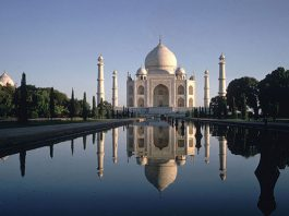 Đền Taj Mahal, Ấn Độ
